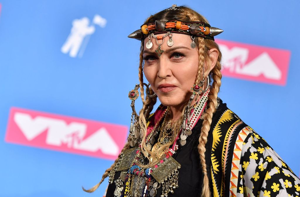 Madonna bei den MTV Video Music Awards in New York. Foto: AFP