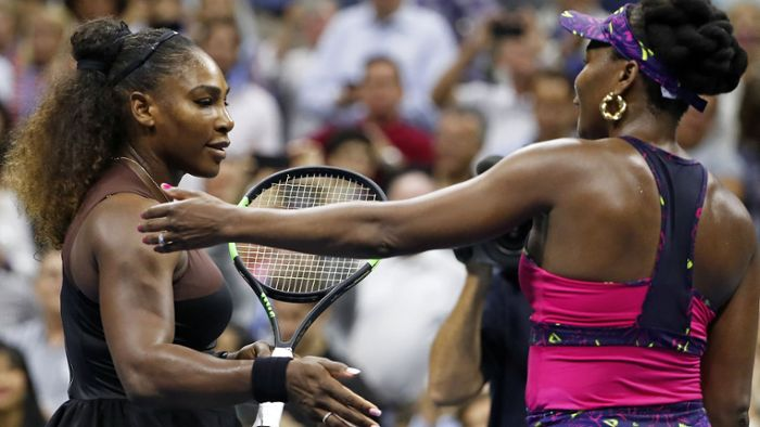 Einseitiges Tennis-Duell der Williams-Schwestern