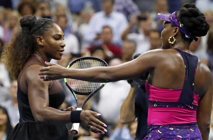 US Open: Einseitiges Tennis-Duell der Williams-Schwestern