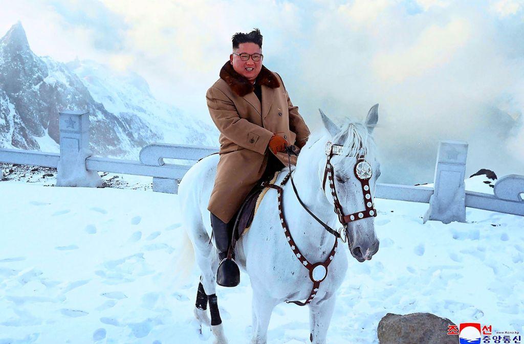 Kim Jong Un Pferd