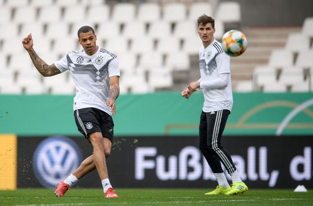 U21 Debut Beim 2 1 Sieg Gegen England Lukas Nmecha Ein Versprechen Fur Die Zukunft Fussball Stuttgarter Nachrichten
