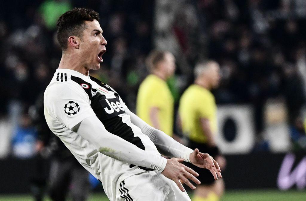 Cojones Geste Uefa Leitet Verfahren Gegen Ronaldo Ein