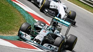 Williams im Windschatten von Mercedes
