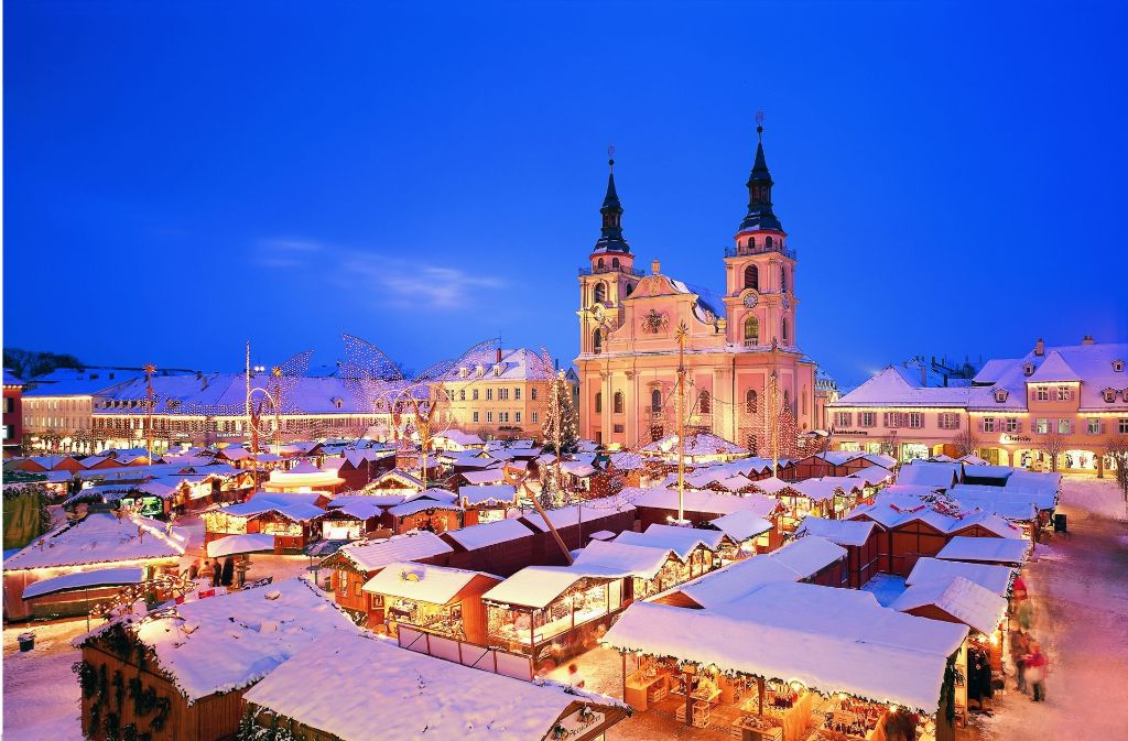 öffnungszeiten Weihnachtsmarkt Stuttgart.Barock Weihnachtsmarkt In Ludwigsburg Zwölf Fakten Zum