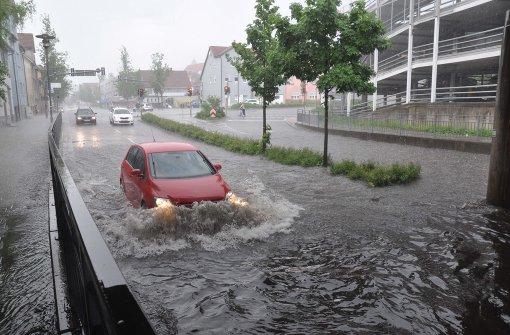 """""""Elvira"""" bringt Hagel und Starkregen"""