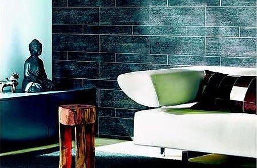 Tapeten mit struktur die toskana im wohnzimmer bauen wohnen stuttgarter nachrichten - Tapeten im wohnzimmer ...