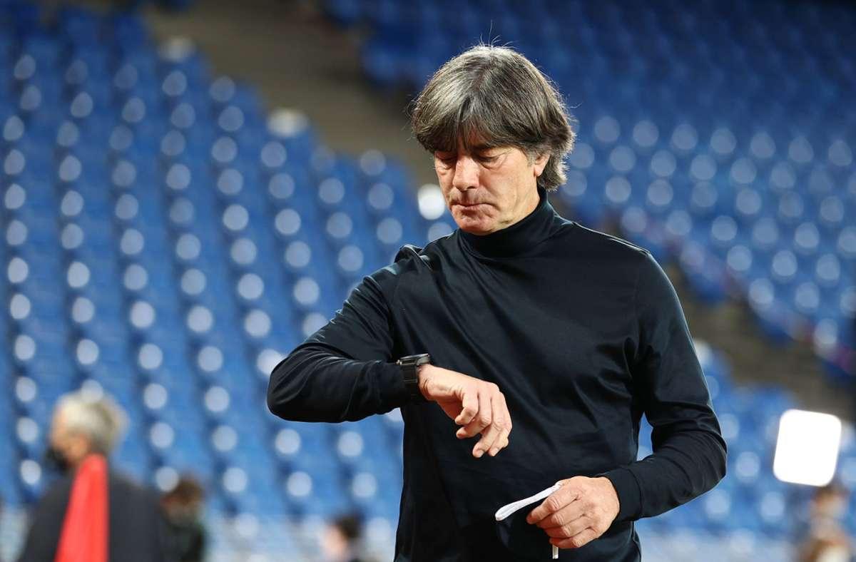 Joachim Löw mit mulmigem Gefühl vor Länderspielen...