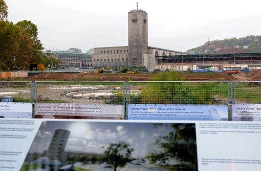 Während aus dem Regierungslager ein Weiterbau von Stuttgart 21 befürwortet wird, halten sich die zehn Aufsichtsräte der Arbeitnehmerseite zurück. Hier die Bilder der ... Foto: dpa