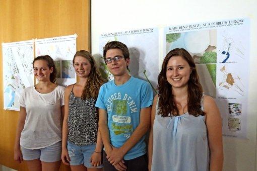 Studenten planen den Ortskern neu