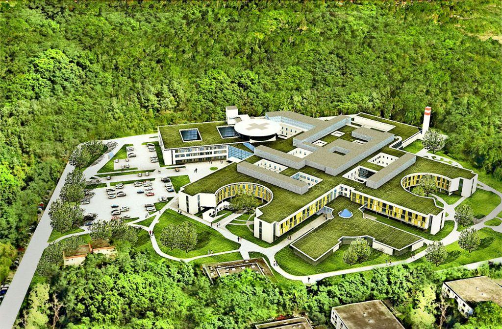 Millionenschwere Krankenhaussanierung in Ostfildern: Klinik vor ...