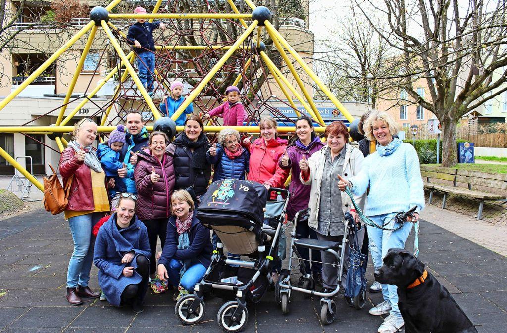 Klettergerüst Erwachsene : Stuttgart heumaden: die nachbarn rücken zusammen sillenbuch