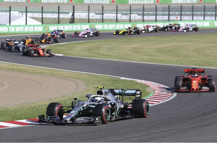Valtteri Bottas gewinnt in Japan: Mercedes holt Formel-1-Konstrukteurstitel