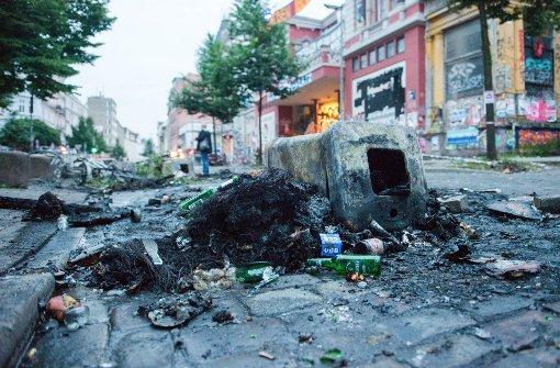 """G20-Demo """"Welcome to Hell"""" eskaliert: Eine Spur der Verwüstung ..."""