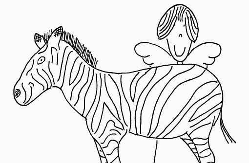 Der Schutzengel am Zebrastreifen