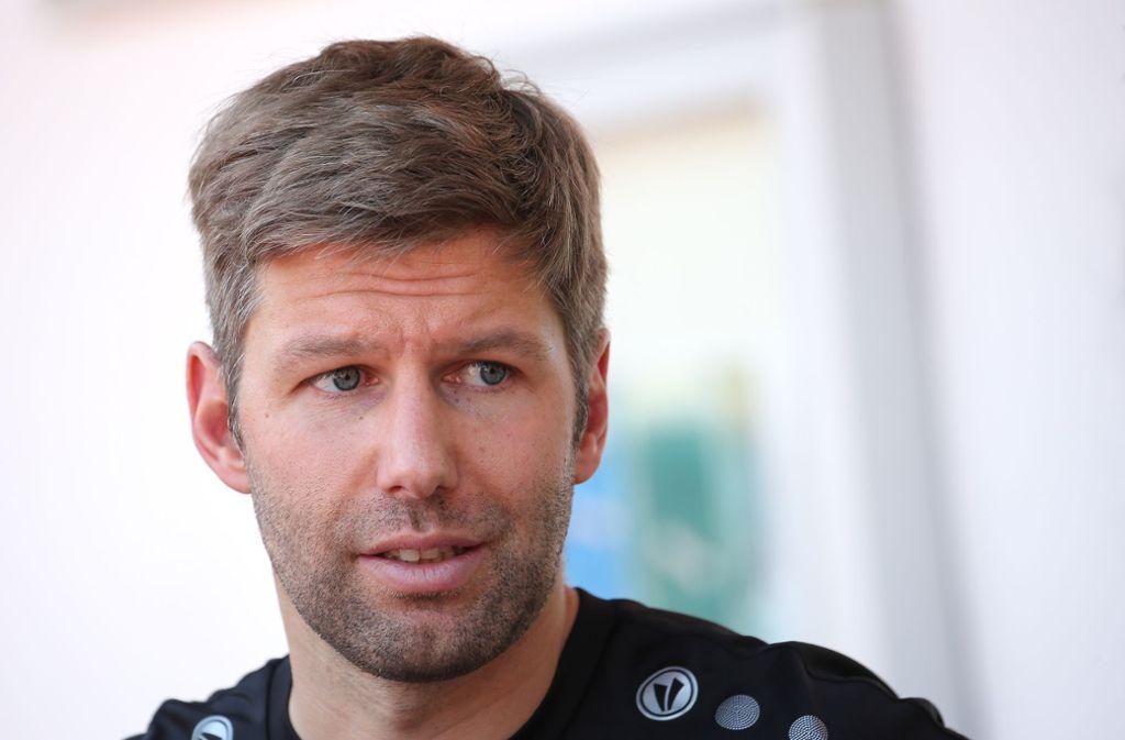 Training beim VfB Stuttgart: Hitzlsperger wünscht sich einheitliche Lösung