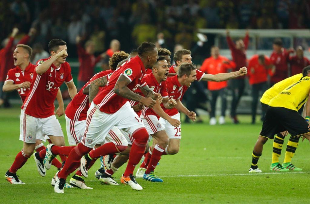 Elfmeterschießen Bayern Bvb
