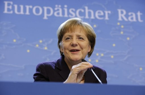 Bundeskanzlerin Angela Merkel (CDU) Foto: EPA