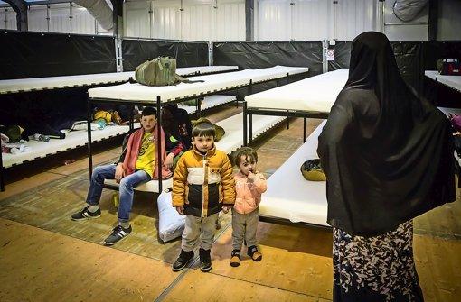 Flüchtlinge türmen oft aus Notquartieren
