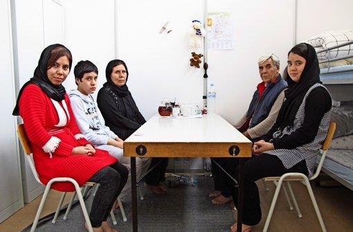 Zum Tee bei Flüchtlingen