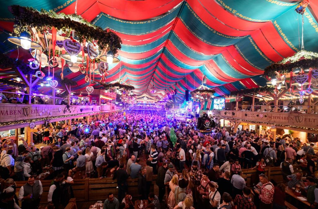 Cannstatter Volksfest 2020, KlauГџ Und KlauГџ Dinkelacker, 27. September