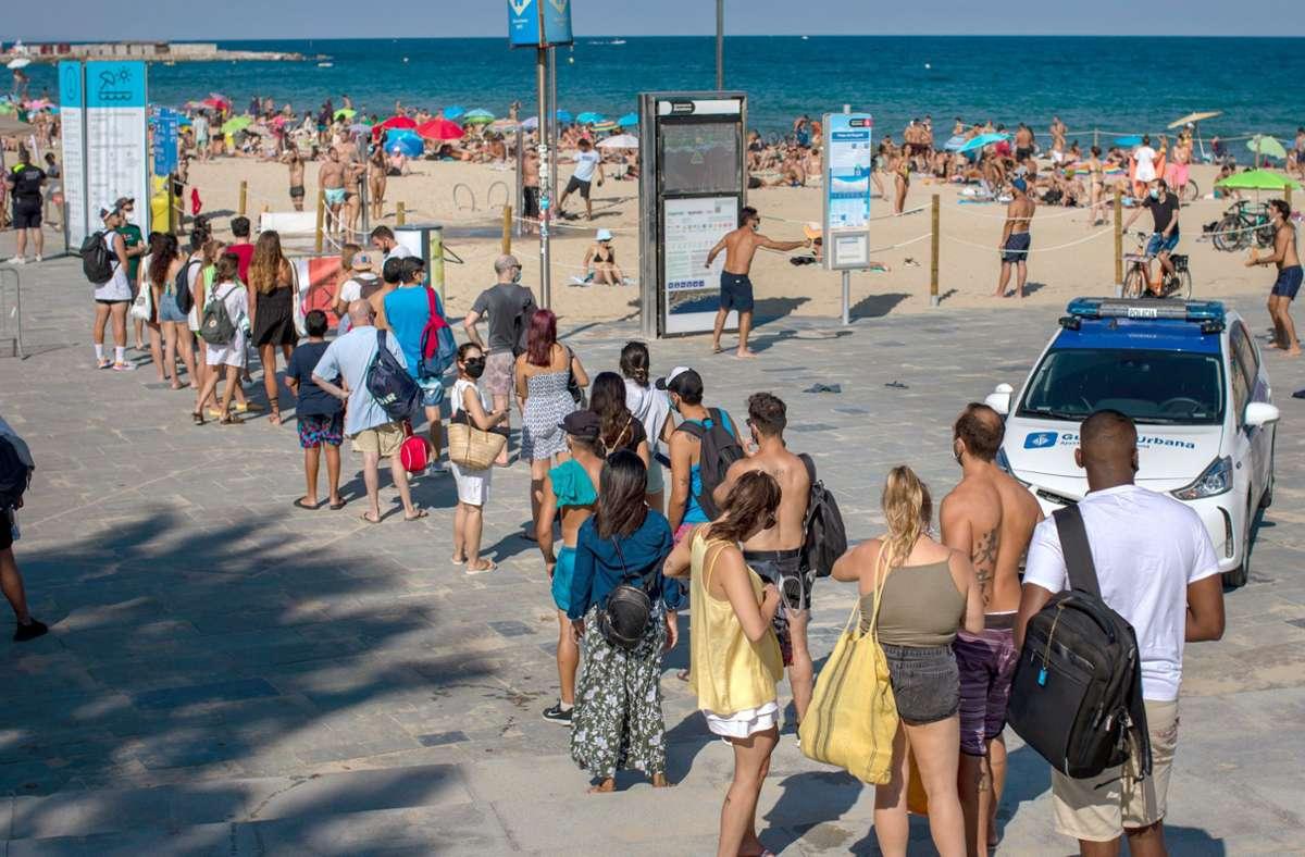 Auswärtiges Amt rät von Urlaubsreisen in einzelne Regionen Spaniens ab
