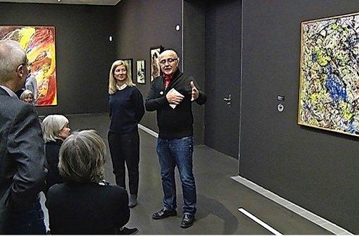 Bernhard Lobmüller (re.) mit Ulrike Groos Foto: regio-tv