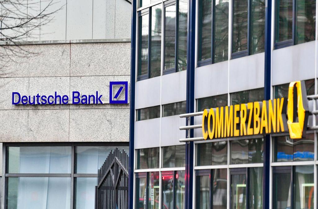 Grossbanken Verdi Chef Geisselt Fusionsplane Von Deutscher Bank Und Commerzbank Wirtschaft Stuttgarter Nachrichten