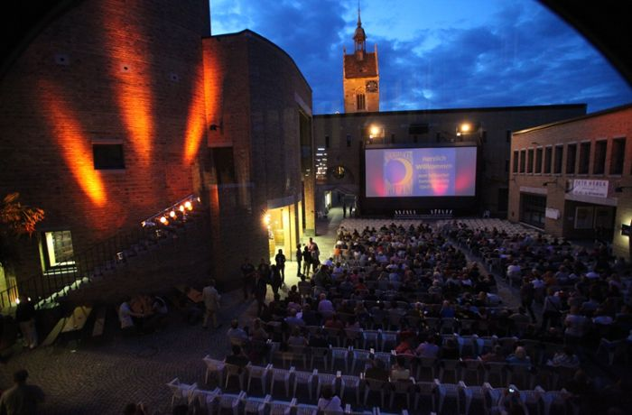 Open-Air-Kino in Fellbach: Echte Freiluft-Cineasten sind wasserfest