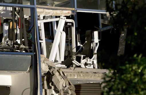 Ein Toter bei Explosion in einem Sportzentrum