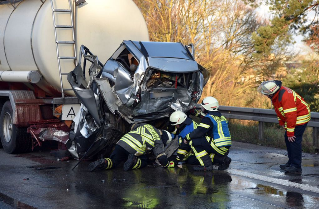 Polizeibericht Unfall A57