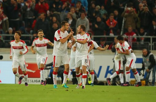 VfB führt mit 2:1 gegen die Löwen