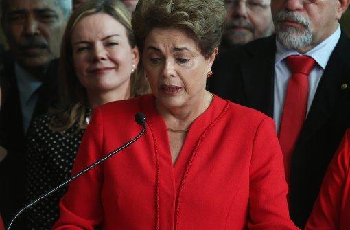 Rousseff spricht von Staatsstreich