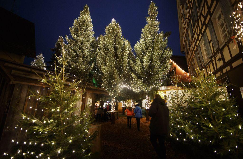 Weihnachtsmarkt Winnenden.Adventszeit Diese Weihnachtsmärkte Locken Im Rems Murr Kreis Rems