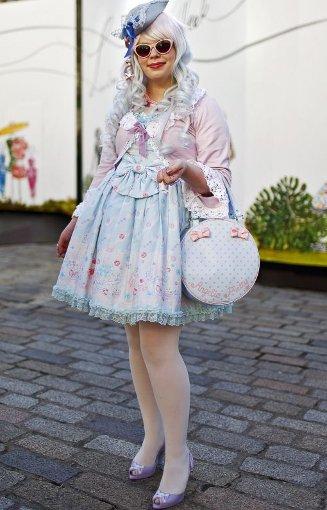 Fashion-Bloggerin Florrie Clarke. Foto: dpa