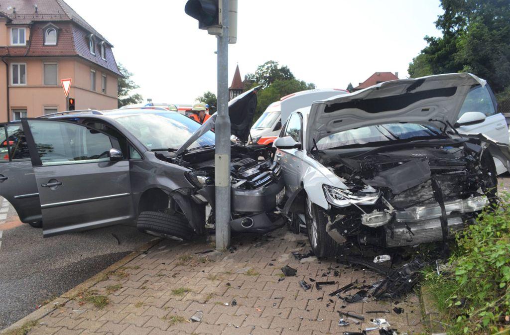 Unfall Pforzheim