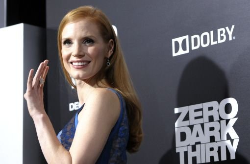 "Jessica Chastain (""Zero Dark Thirty"") Foto: AP"