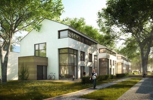 Die geplanten Wohnbauprojekte der SWSG auf der Rohrer Höhe und... Foto: SWSG