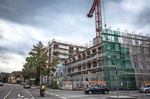 Die Stadt ist beim Wohnungsbau in Zugzwang