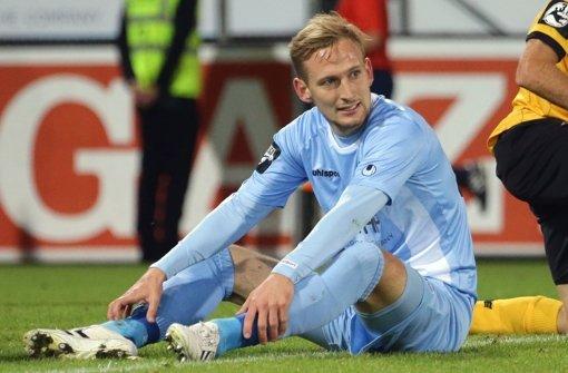 Manuel Fischer fällt für die Kickers lange aus. Foto: Pressefoto Baumann