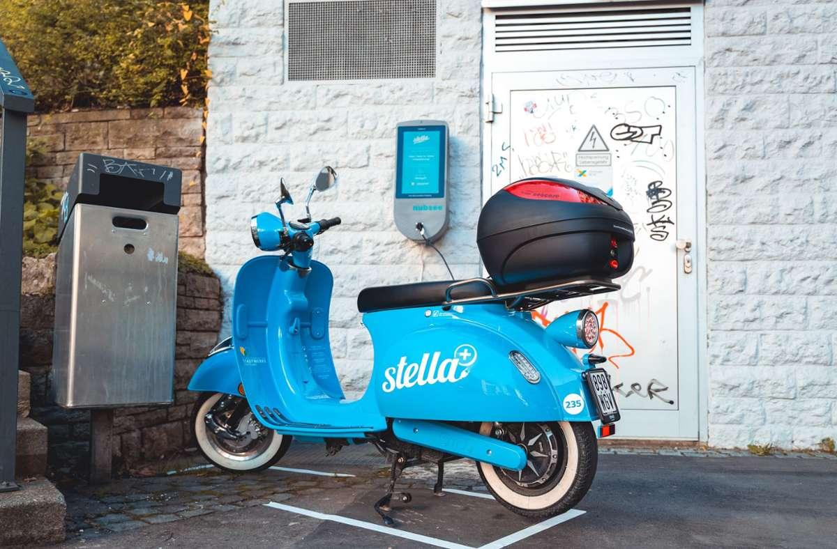 Elektromobilität in Städten: Stella-Roller in Stuttgart
