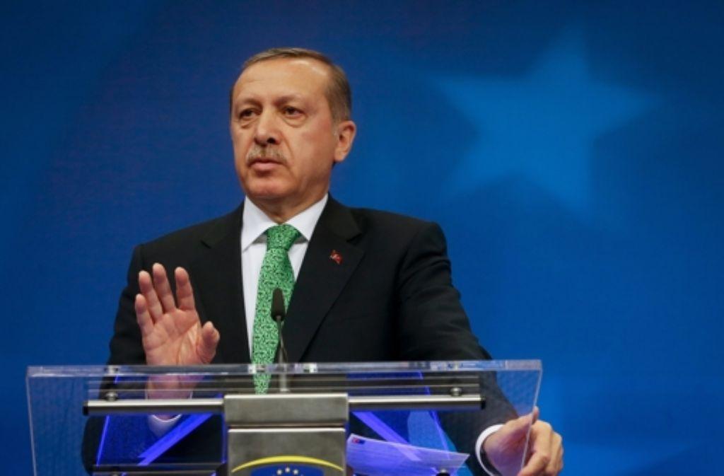Nachrichten über Erdogan