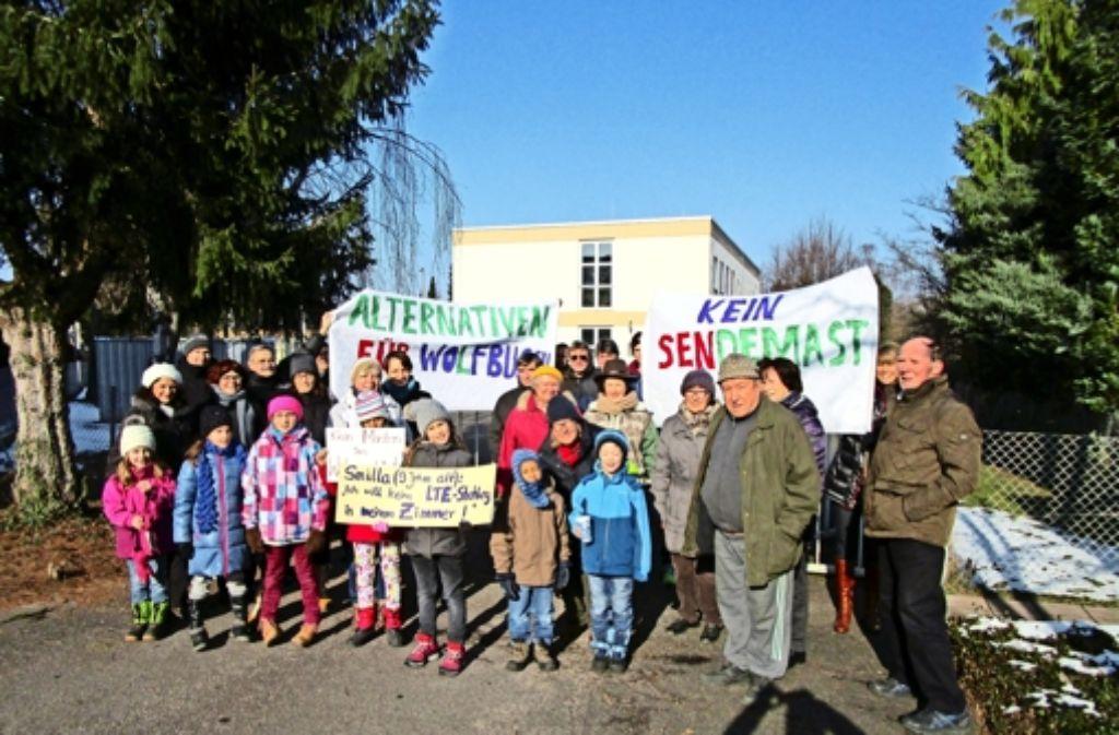 Bürgerinitiative Demos Sollen Sendemast Verhindern Weilimdorf