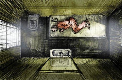 Der Grund für den Gefängnisaufenthalt bleibt im Dunkeln: Armstrong in seiner Zelle - mehr Bilder in unserer Bildergalerie Foto: Verleih