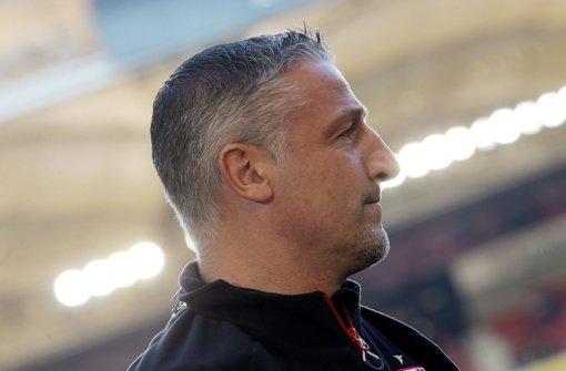 Jürgen Kramny ist der Trainer des VfB Stuttgart. Foto: Pressefoto Baumann