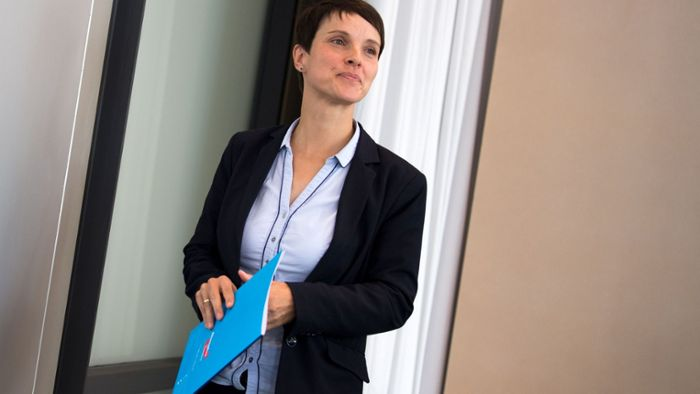 Frauke Petry im Fokus der Diskussion