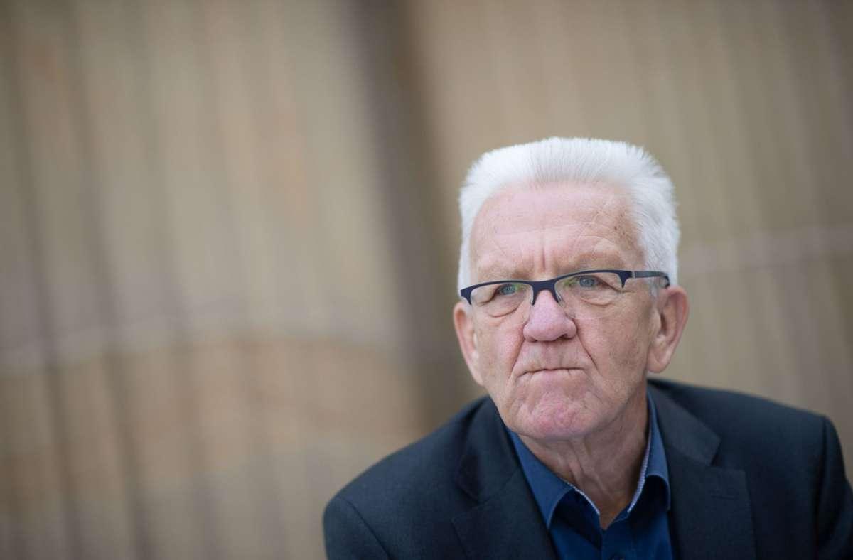 Corona Massnahmen In Baden Wurttemberg Winfried Kretschmann Halt Grenzschliessungen Fur Denkbar Baden Wurttemberg Stuttgarter Nachrichten
