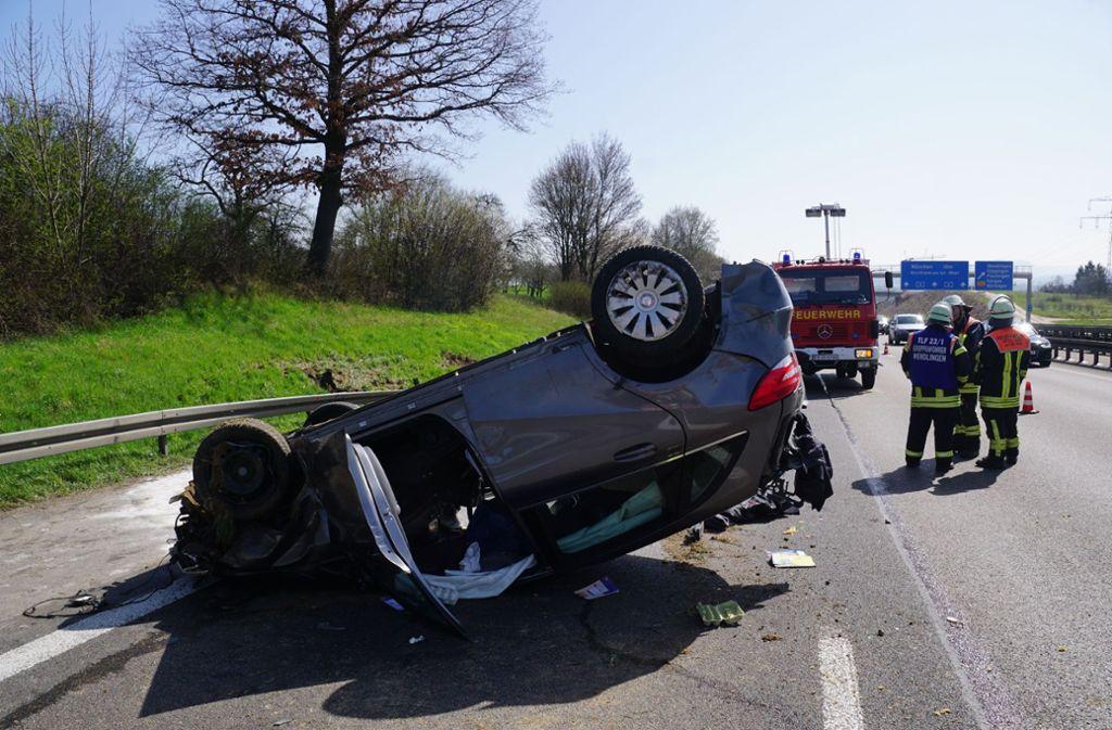Landkreis Esslingen Fünf Verletzte Bei Schwerem Unfall Auf Der