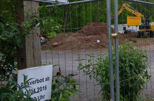 Bau der Unterkunft am Klingenbach beginnt