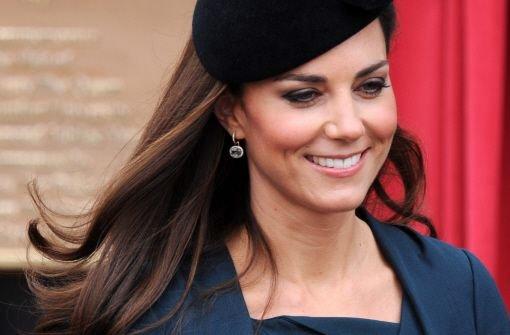 Herzogin Kate ist schwanger und in den Sozialen Netzwerken sind viele ganz aus dem Häuschen - das treibt auch skurrile Blüten, wie unsere Bildergalerie beweist. Foto: dpa