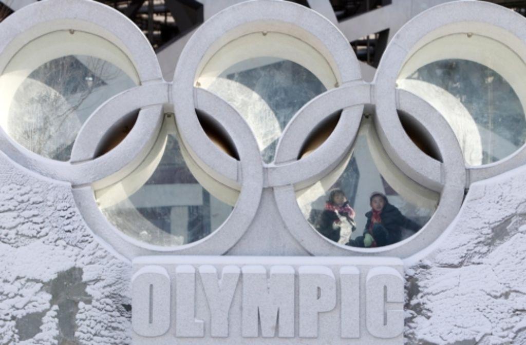 Olympische Winterspiele 2021 Abschlussfeier